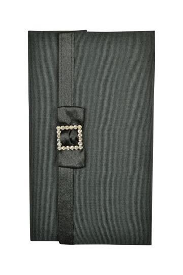 バサージュ ミニョン(passage mignon)ブラックシンプルクリスタル袱紗