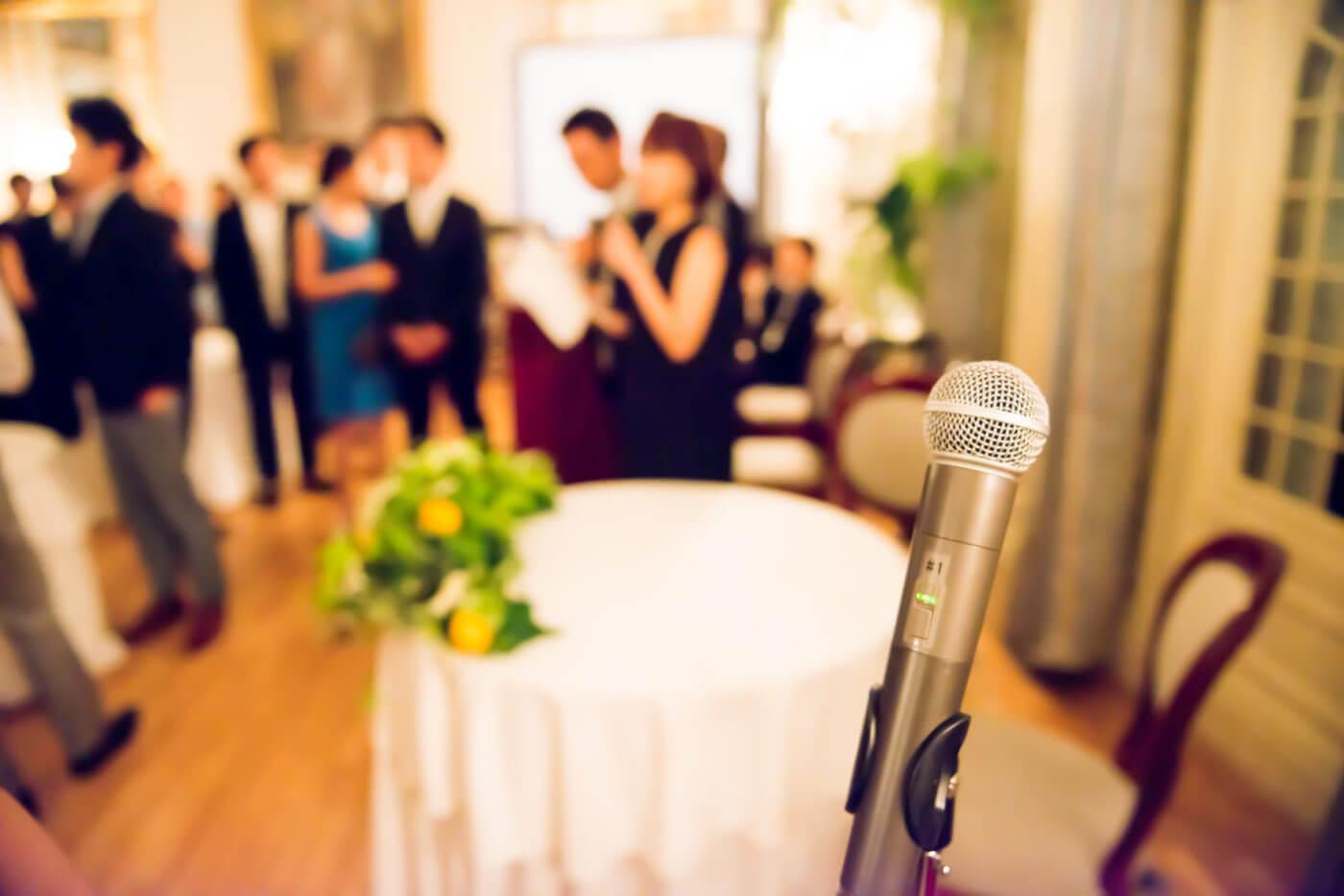 会社関係の結婚式