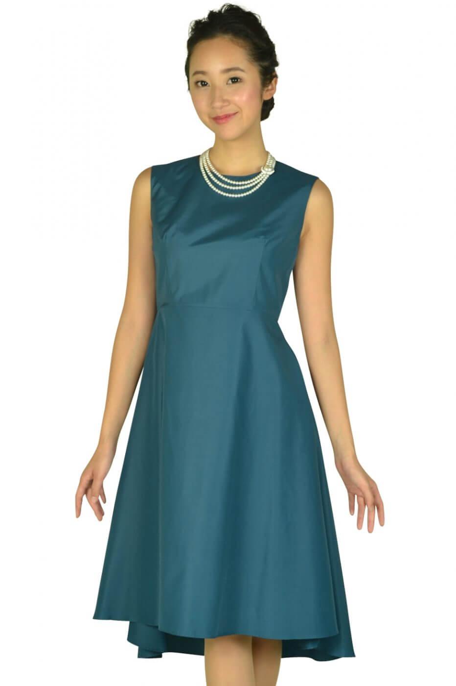 5da52ffb1ac47 ダリアンスケリー(Dalliance Kelly)フィッシュテールスカートグリーンドレス