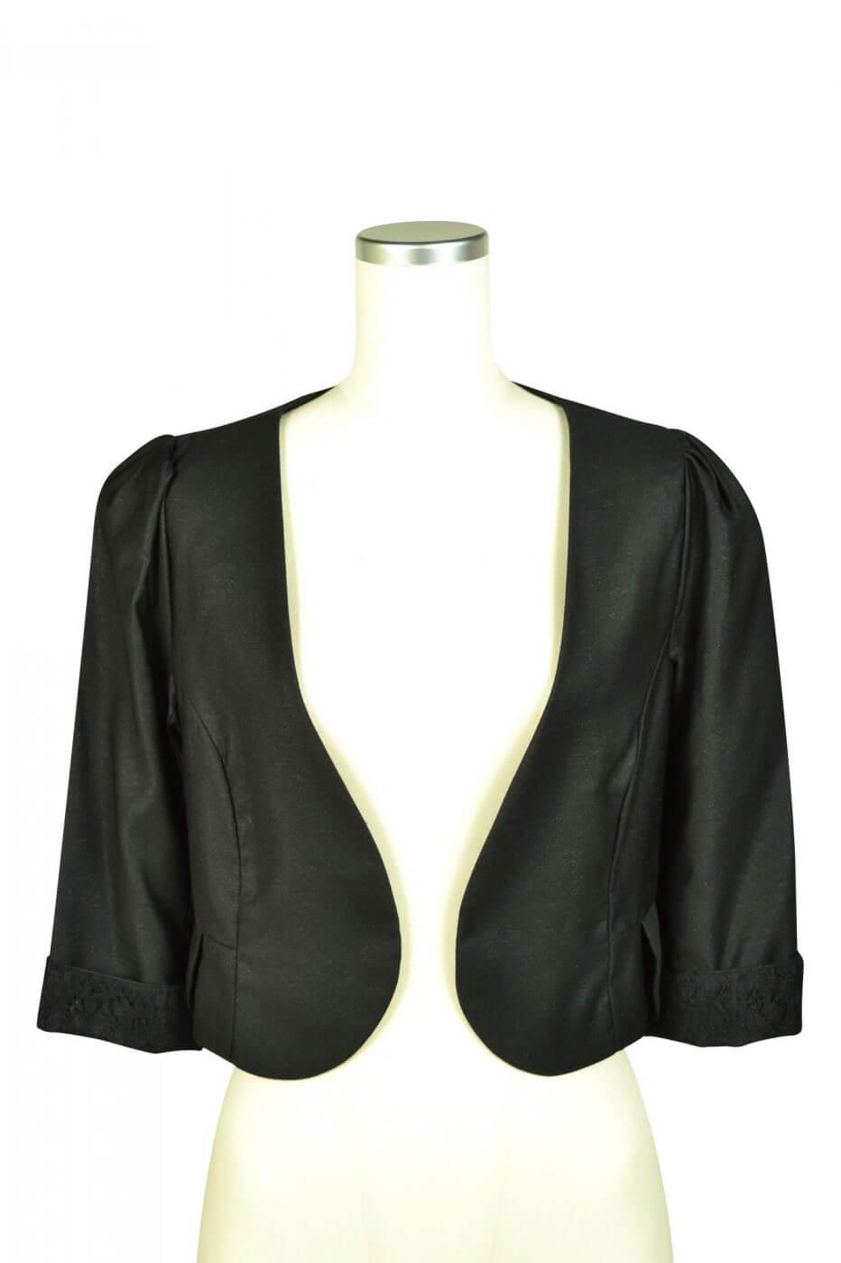 ミベル ミューズ(mebelle muse)ブラックレースジャケット