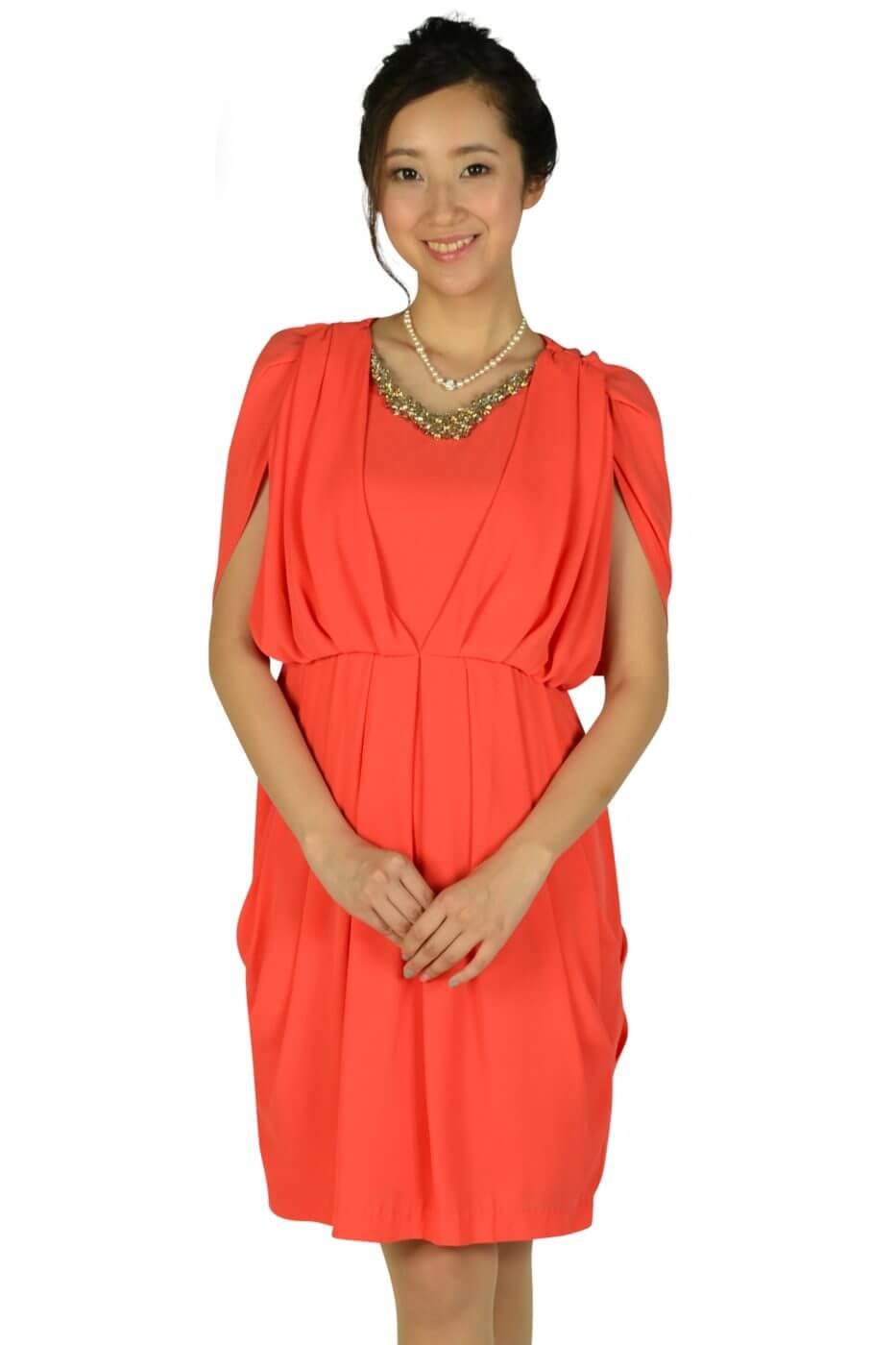 アーバンリサーチ ロッソ (URBAN RESEARCH ROSSO)ゴージャスオレンジドレス