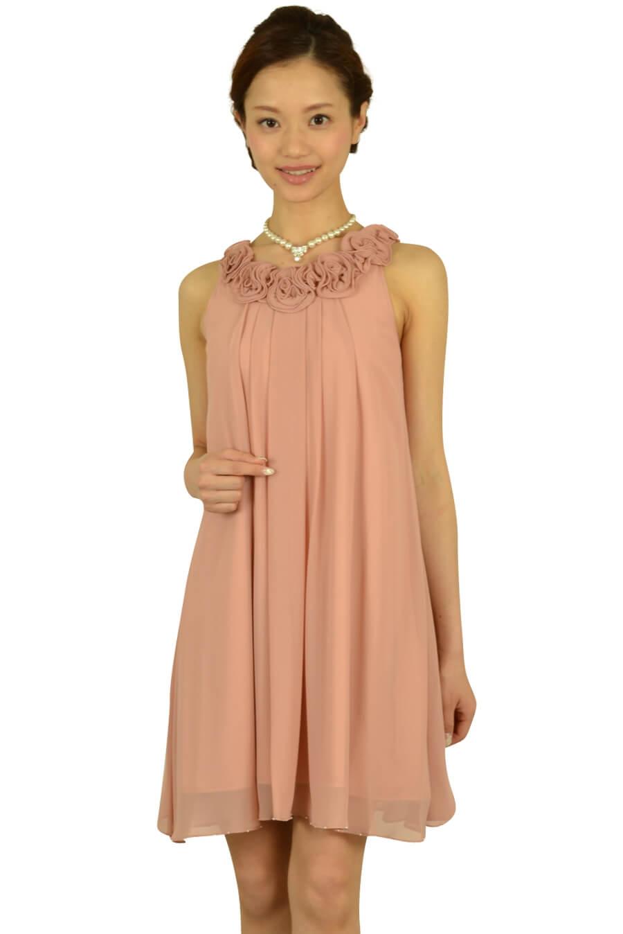 ドーリードール (Dorry Doll)ピンクカラーローズドレス