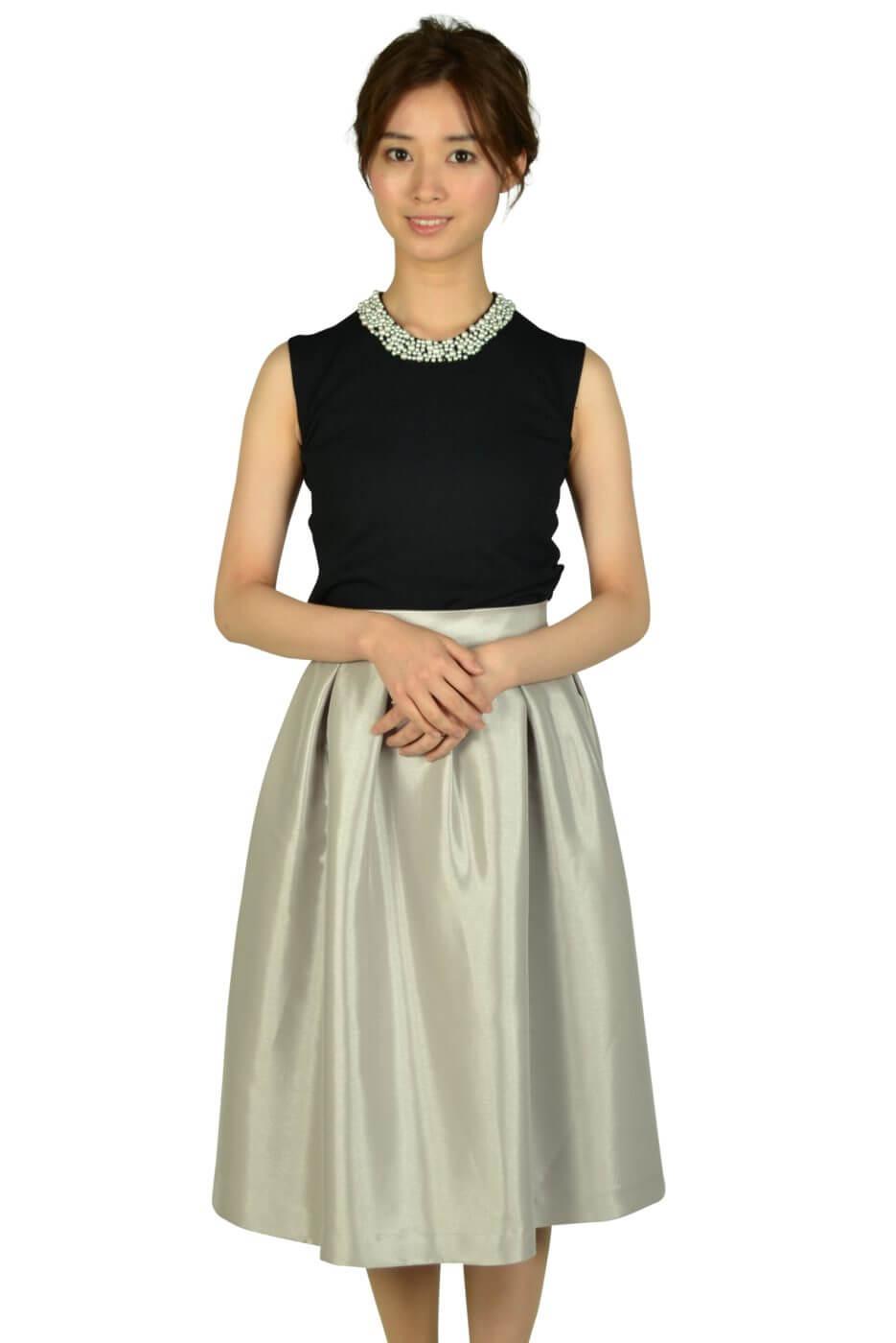 アティラントーレ (Attirantore)サマーニットスカートシルバードレス