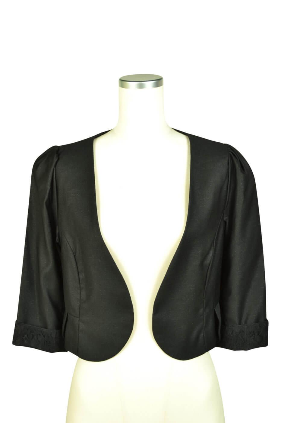 ミベル ミューズ (mebelle muse)ブラックレースジャケット