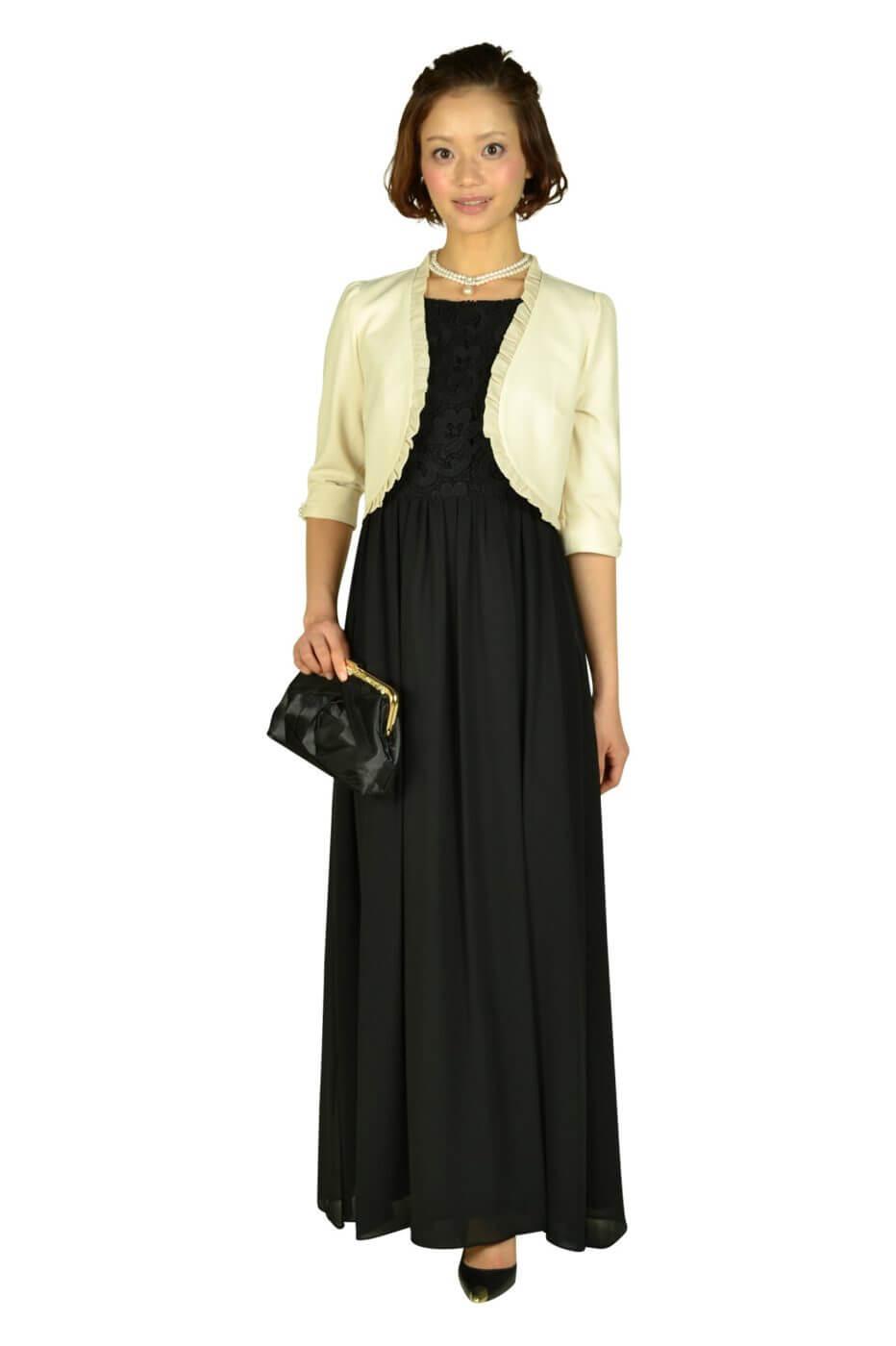 デリセノアール(DELLISE NOIR) ブラックロングドレス
